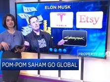 Pom-Pom Saham Go Global