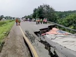 Kronologi Amblesnya Jalan Tol Cipali, Duh Logistik Bisa Parah