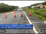 Tol Cipali KM 122 Arah Jakarta Ambles