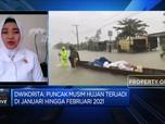 BMKG: Puncak Musim Hujan di Jan-Feb & Merata Seluruh Wilayah