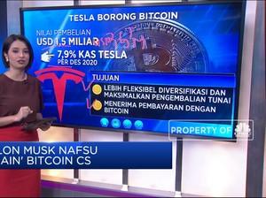 Elon Musk Nafsu 'Main' Bitcoin CS