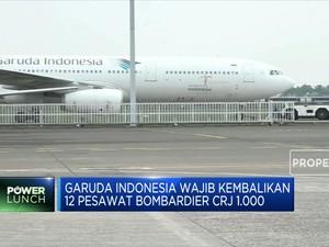 Erick Thohir Minta Garuda Akhiri Kontrak 12 Pesawat CRJ 1000