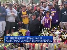 NTSB Ungkap Penyebab Jatuhnya Helikopter Kobe Bryant