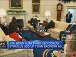 Joe Biden Bertemu Para CEO, Bahas Stimulus Covid-19