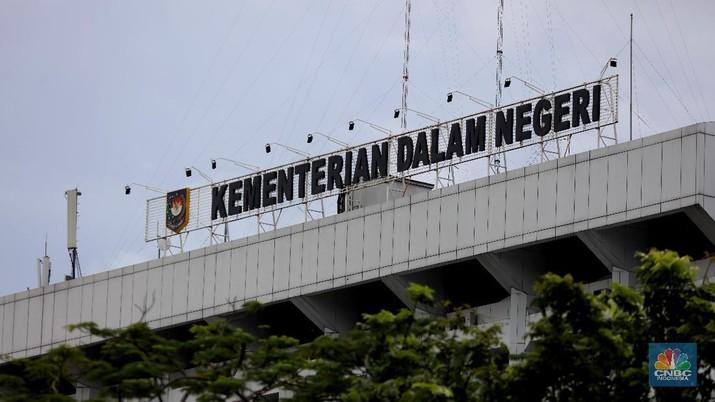 Kementerian Dalam Negeri, Kemendagri (CNBC Indonesia/Tri Susilo)