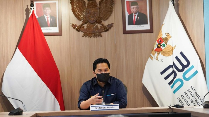 Menteri BUMN Erick Thohir (BUMN)