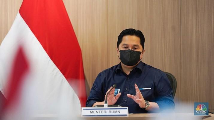 Menteri BUMN, Erick Thohir  (Dok.BUMN)