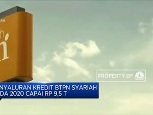Penyaluran Kredit BTPS 2020 Capai Rp 9,5 T