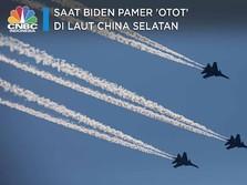 Saat Biden Pamer 'Otot' di Laut China Selatan