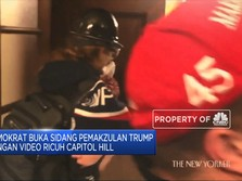 Sidang Pemakzulan Trump, Demokrat Buka Video Ricuh Capitol