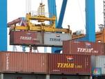 Impor Masih 'Tiarap', Neraca Dagang RI Surplus US$ 1,96 M