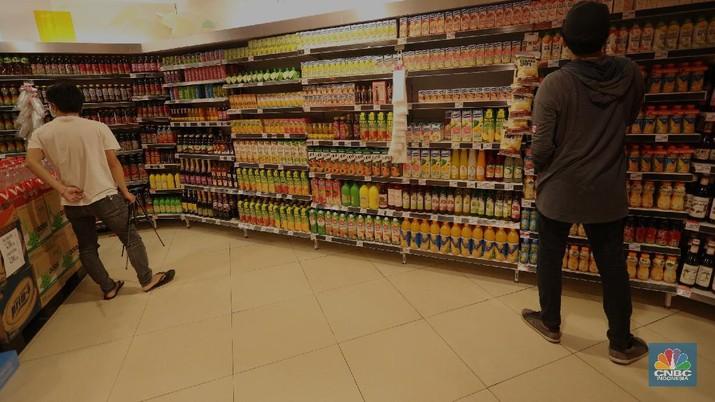 Supermarket Hero (CNBC Indonesia/Tri Susilo)