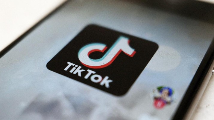 A logo of a smartphone app TikTok is seen on a user post on a smartphone screen Monday, Sept. 28, 2020, in Tokyo. (AP Photo/Kiichiro Sato)