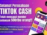 Resmi! Kominfo Blokir Situs TikTok Cash
