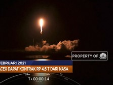 Program Padat Karya Jokowi Hingga Kontrak NASA di SpaceX