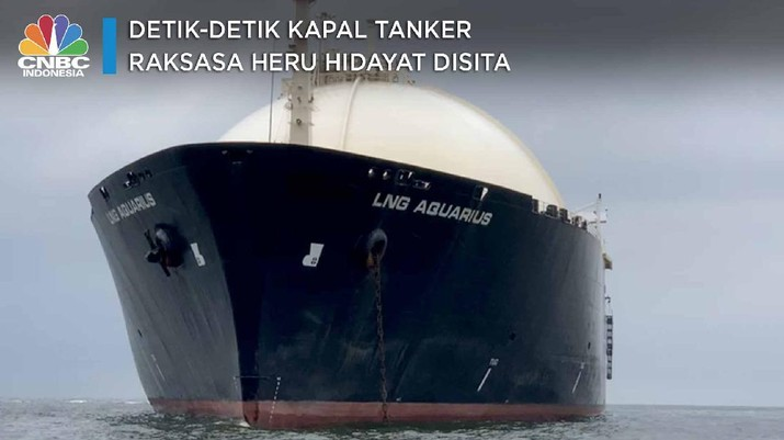 Detik-detik Kapal Tanker Raksasa Heru Hidayat Disita