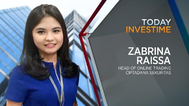 Head of Online Trading Ciptadana Sekuritas, Zabrina Raissa