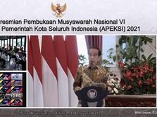 Jokowi: Negara Lain Lockdown Total, Ekonomi Jatuh!