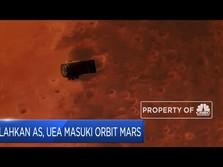 Kalahkan AS, UEA Masuki Orbit Mars
