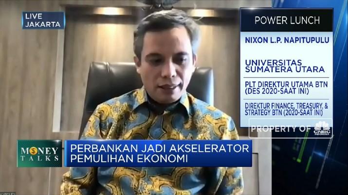 Optimisme BTN Capai Target Pertumbuhan Laba 50% di 2021 (CNBC Indonesia TV)