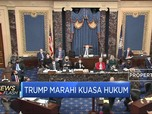 Tak Puas dengan Sidang Pemakzulan, Trump Marahi Kuasa Hukum