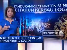 Tandukan Kuat Emiten Mineral di Tahun Kerbau Logam
