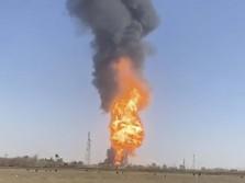 500 Mobil Terbakar di Perbatasan Afganistan-Iran, Kenapa Nih?