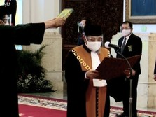 Sah, Jokowi Lantik Andi Samsan Nganro Jadi Wakil Ketua MA
