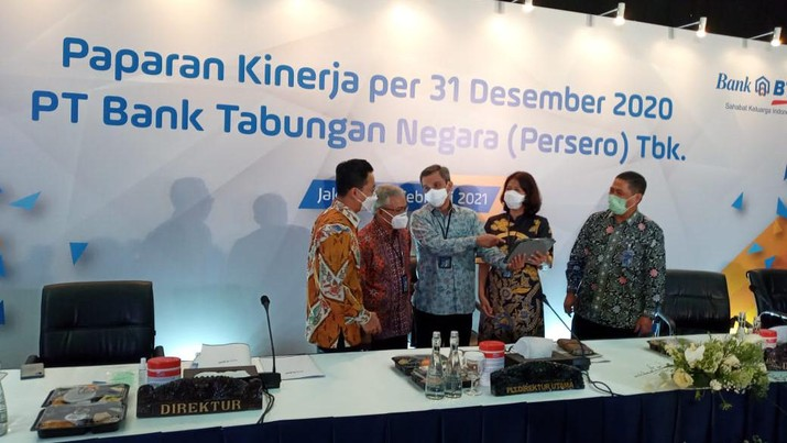 Bank BTN (CNBC Indonesia/Syahrizal Sidiq)