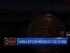 Mendekati US$ 50 Ribu, Harga Bitcoin Capai Rekor Baru