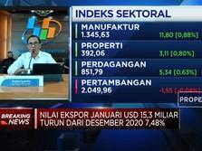 Impor Anjlok, Neraca Dagang Januari 2021 Surplus USD 1,96 M