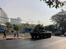 Myanmar Kian Mencekam! Militer Sempat Padamkan Internet 8 Jam