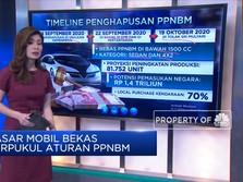 Pasar Mobil Bekas Terpukul Aturan PPNBM