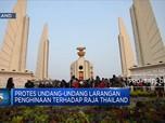 Aktivis Protes UU Larangan Penghinaan Raja Thailand