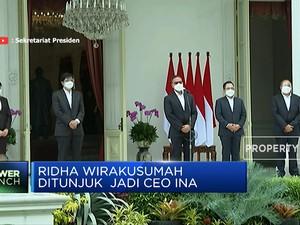 Ridha Wirakusumah, CEO INA Pilihan Presiden Jokowi
