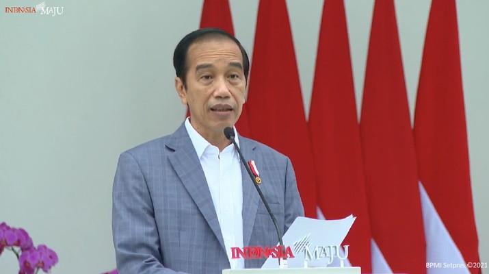 Jokowi, SWF, INA (Yotube/BPMI)