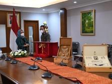 Benda Gratifikasi Jokowi Rp8,7 M dari Raja Salman Dimuseumkan
