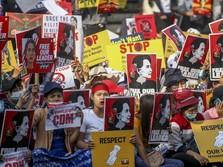 Update Myanmar! Militer Janji 'Angin Surga' ke Pendemo