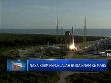 NASA Kirim Penjelajah Roda Enam Ke Mars