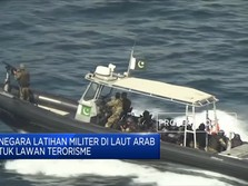 Puluhan Kapal Perang 'Serbu' Laut Arab