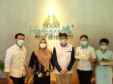 Mampir Oemah Herborist Bali, Sandiaga Apresiasi Produk VICI