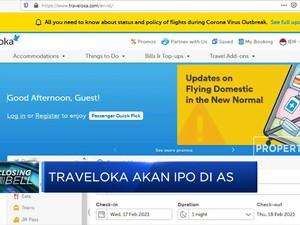 Traveloka Siap IPO SPAC di Bursa AS