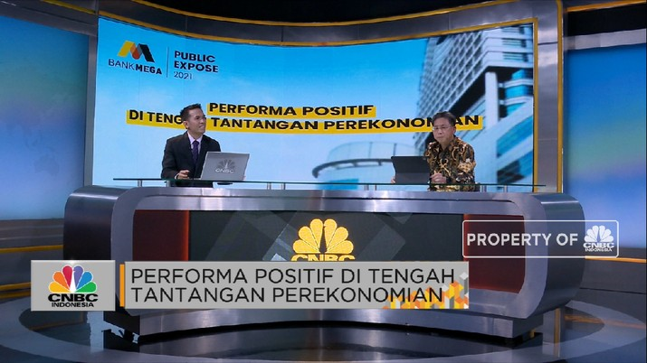 Bedah Sumber Pertumbuhan Bisnis Bank Mega 2021 (CNBC Indonesia TV)