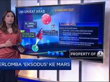 Berlomba 'Eksodus' Ke Mars