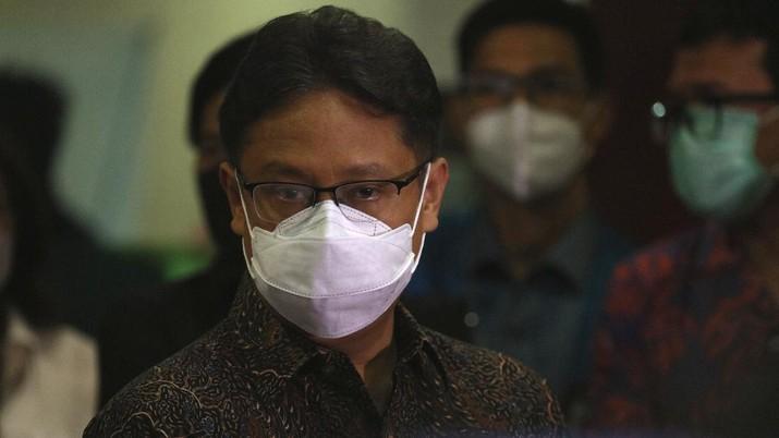 Menkes Budi Gunadi Sadikin (CNBC Indonesia/Tri Susilo)
