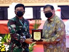 Menko Perekonomian Apresiasi Dukungan TNI untuk PPKM Mikro