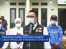 Ridwan Kamil Dukung Sanksi Bagi Penolak Vaksinasi Covid-19