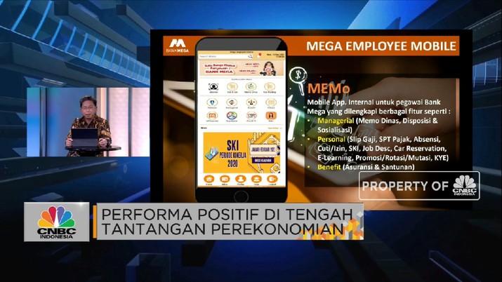 Startegi Otomasi Proses & Transformasi Digital Bank Mega(CNBC Indonesia TV)