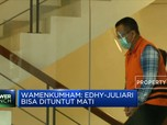 Wamenkumham: Edhy & Juliari Bisa Dituntut Hukuman Mati