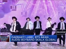 Daebak!!! Label BTS Akan Audisi Boyband Skala Global